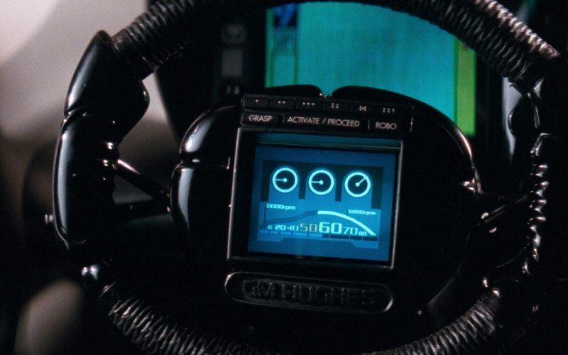 GM Hughes Steering Wheel in Demolition Man (1993)