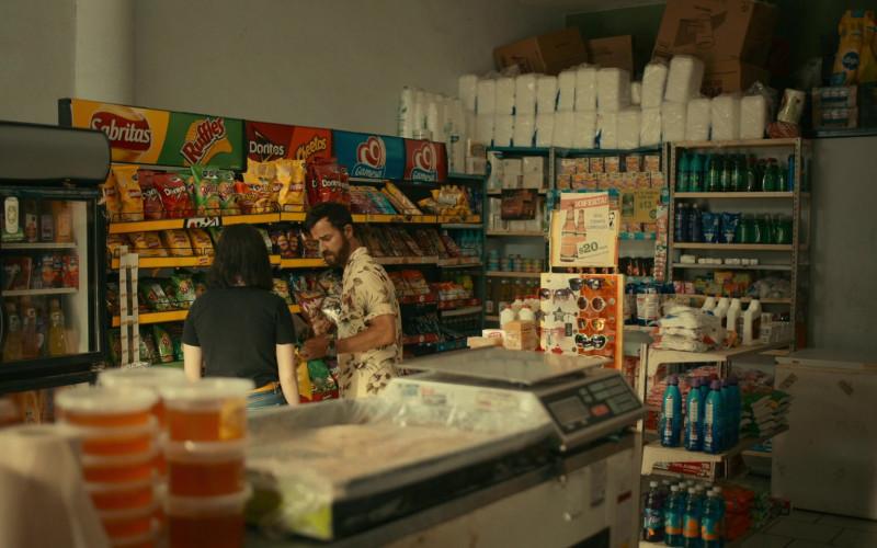 Gatorade Drinks, Sabritas, Ruffles, Doritos, Cheetos, Gamesa Cookies in The Mosquito Coast S01E07 The Glass Sandwich (2021)
