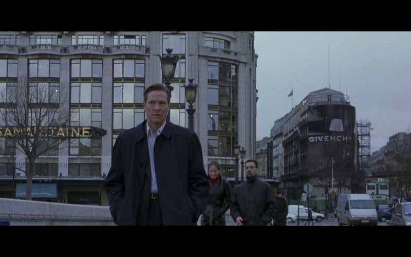 Givenchy in The Bourne Identity (2002)