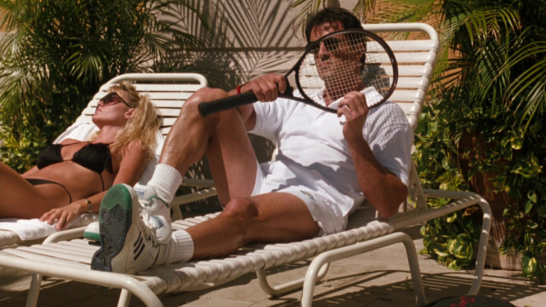 HEAD Tennis Racquet of Sylvester Stallone as Captain Ray Quick in The Specialist (2)