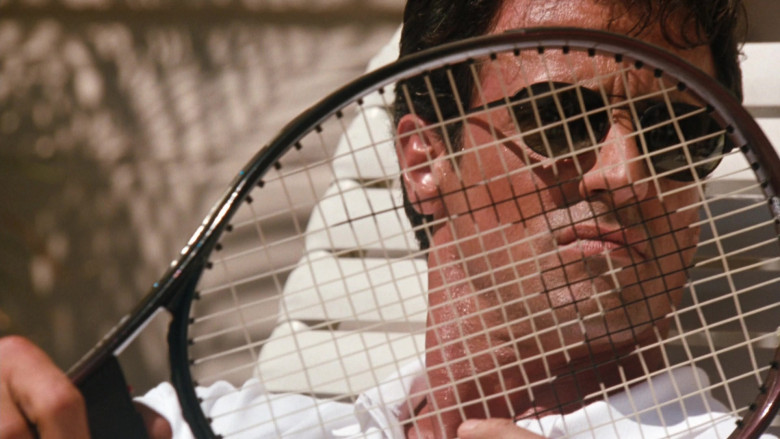 HEAD Tennis Racquet of Sylvester Stallone as Captain Ray Quick in The Specialist (3)