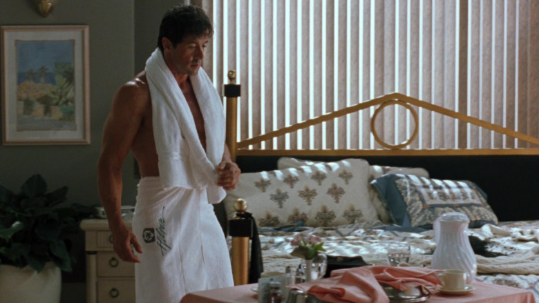 Hilton Hotel Towel Worn by Sylvester Stallone as Captain Ray Quick in The Specialist (1994)