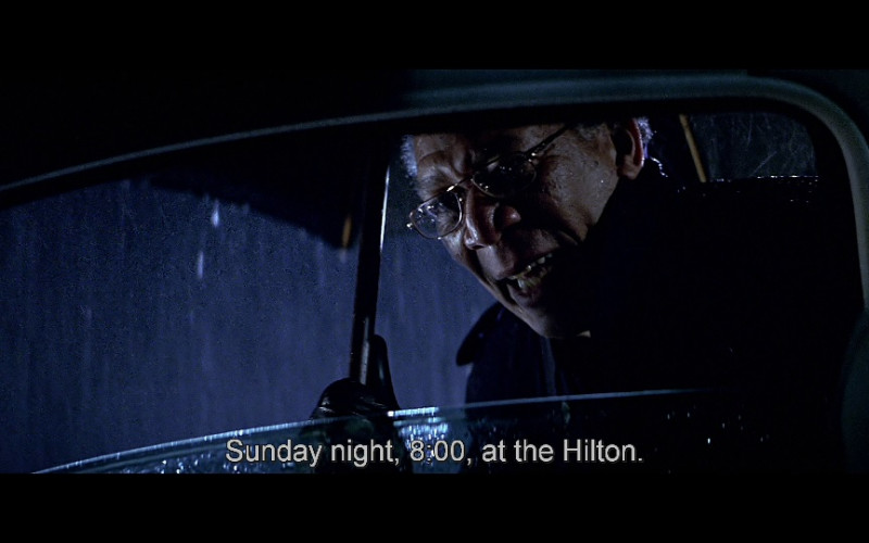 Hilton Hotel in The Sum of All Fears (2002)