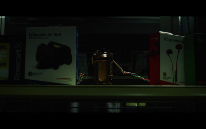 HyperX ChargePlay Duo Playstation Controller Charger and Cloud Earbuds (Gaming Earphones) in Loki S01E02 The Variant (2021
