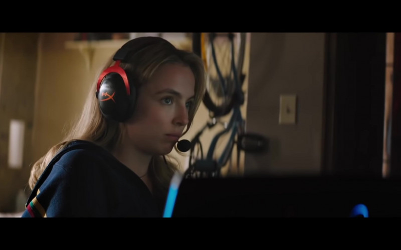 HyperX Gaming Headset of Jodie Comer as Milly – Molotov Girl in Free Guy (2021)