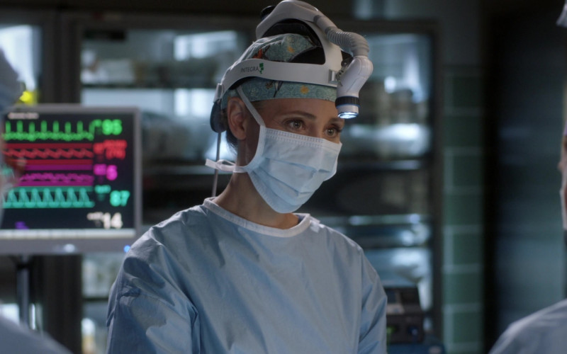 Integra DUO LED Surgical Headlight Systems Used by Doctors in Grey's Anatomy S17E17 TV Show 2021 (1)