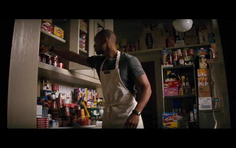 Lipton, Pringles, Kelloggs, Heinz ketchup, Dove in I Am Legend (2007)