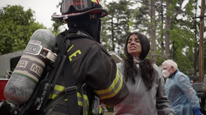 MSA Safety SCBA Self Contained Breathing Apparatus in Station 19 S04E16 Forever and Ever, Amen (10)