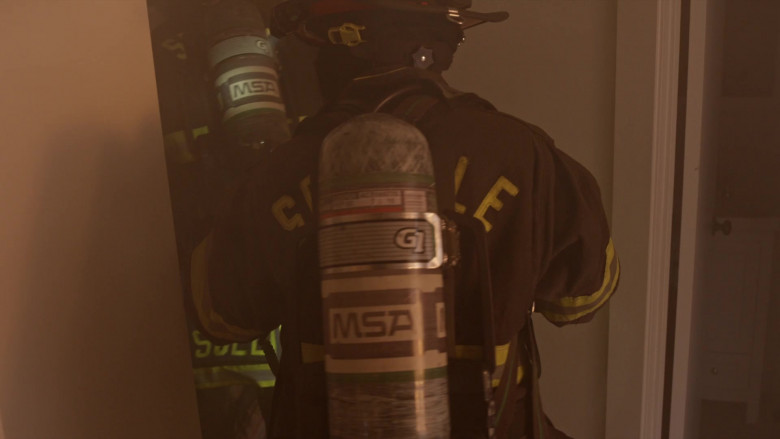 MSA Safety SCBA Self Contained Breathing Apparatus in Station 19 S04E16 Forever and Ever, Amen (7)