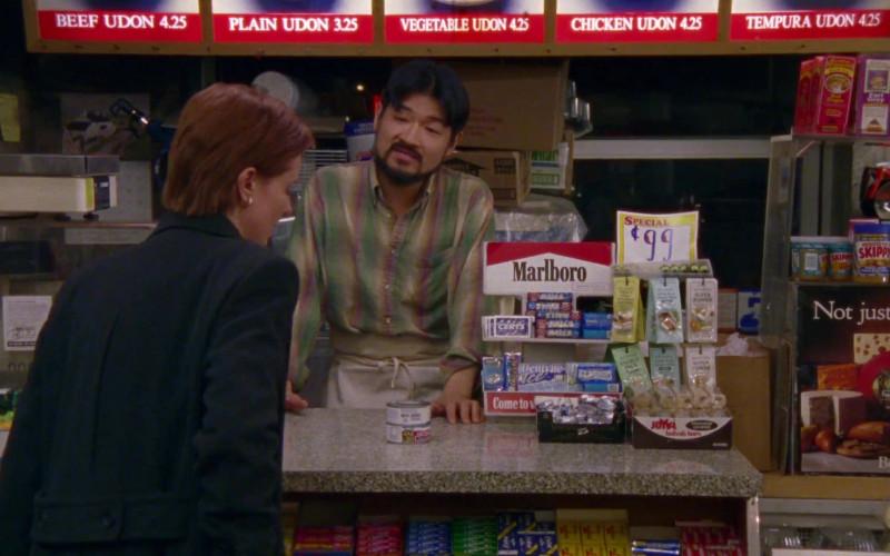 Marlboro Cigarettes, Certs Breath Mint, Halls (Cough Drop), Skippy Peanut Butter, Dentyne Gum in Sex an