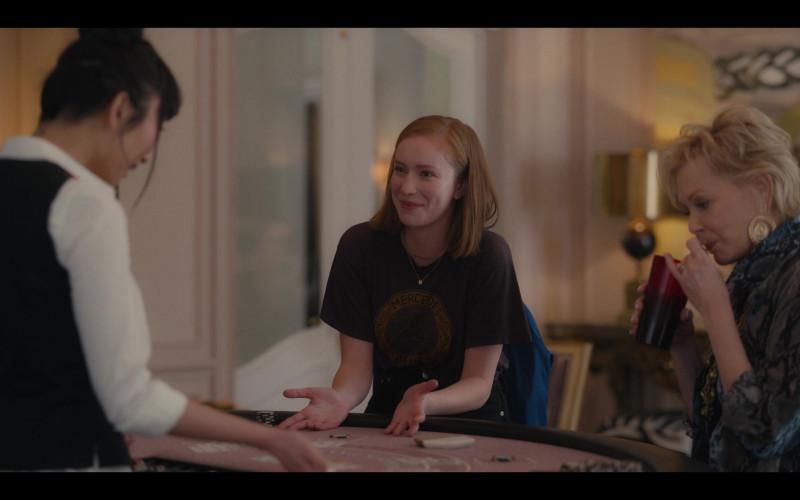 Mercedes-Benz T-Shirt Worn by Hannah Einbinder as Ava Daniels in Hacks S01E08 1.69 Million (2021)
