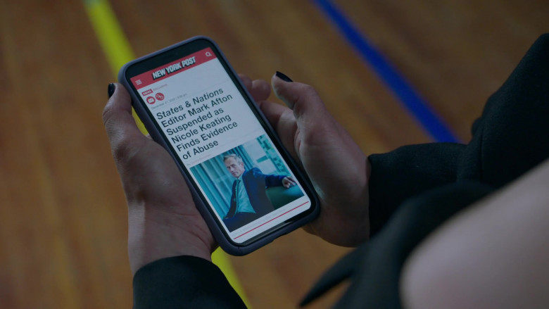 New York Post Website in The Bold Type S05E02 The Crossover (2021)