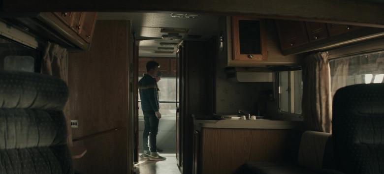 Nike Blazer Men's Sneakers of Jordan Elsass as Jonathan Kent in Superman & Lois S01E08 Holding the Wrench (2021)