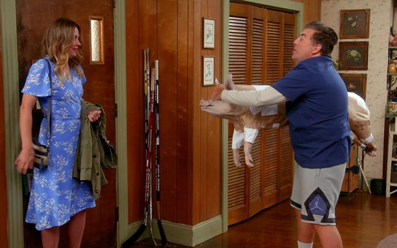Nike Jordan Shorts Worn by Eric Petersen as Kevin McRoberts in Kevin Can Fk Himself S01E03 We're Selling Washing Machines (2021)