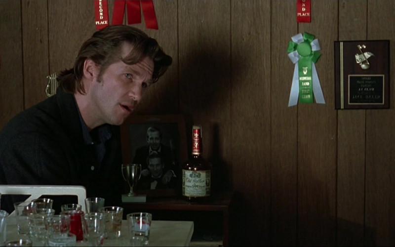 Old Weller Antique 107 Bourbon in The Fabulous Baker Boys 1989 Movie (1)