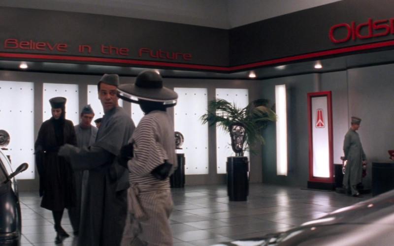 Oldsmobile Car Dealership in Demolition Man 1993 Movie (1)