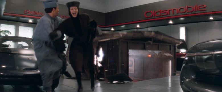 Oldsmobile Car Dealership in Demolition Man 1993 Movie (2)