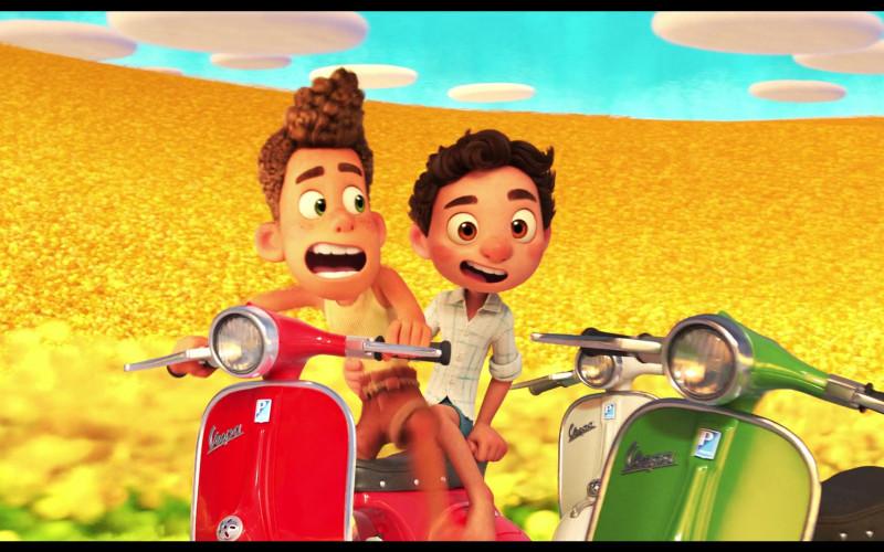 Piaggio Vespa Scooters in Luca 2021 Animated Movie (5)