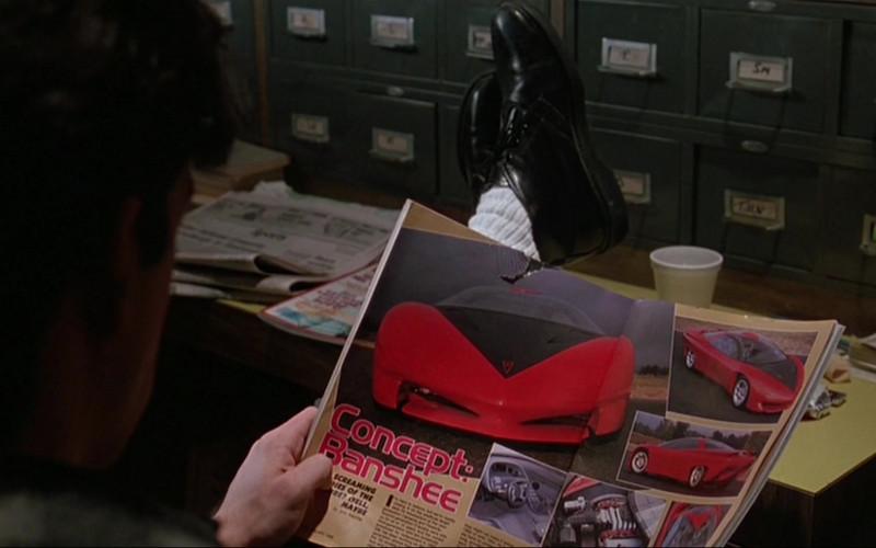 Pontiac Banshee Red Concept Car in The Fabulous Baker Boys (1989)