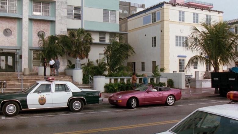 Porsche 968 Cabrio Car in The Specialist 1994 Movie (1)