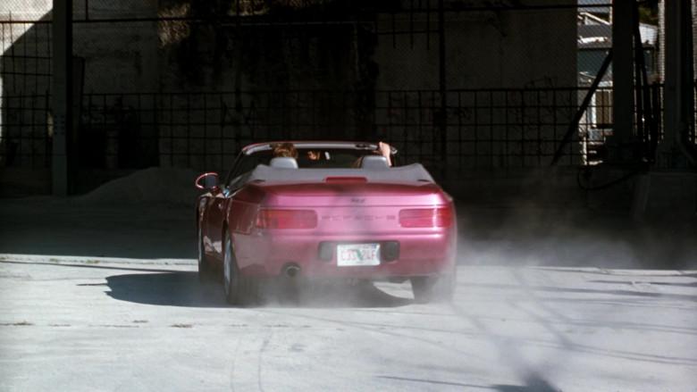 Porsche 968 Cabrio Car in The Specialist 1994 Movie (4)