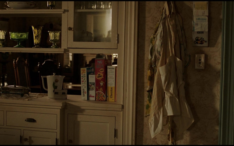 Post and General Mills Cheerios Cereals in The Conjuring The Devil Made Me Do It (2021)