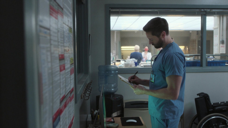 Primo Water Dispenser in New Amsterdam S03E14 Death Begins in Radiology (2021)