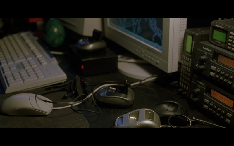 RadioShack Devices in The Bourne Identity (2002)