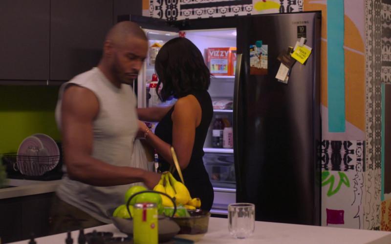 Samsung Refrigerator, Vizzy Hard Seltzer, Sanzo Sparkling Water in Run The World S01E04 I Love Harlem (2021)