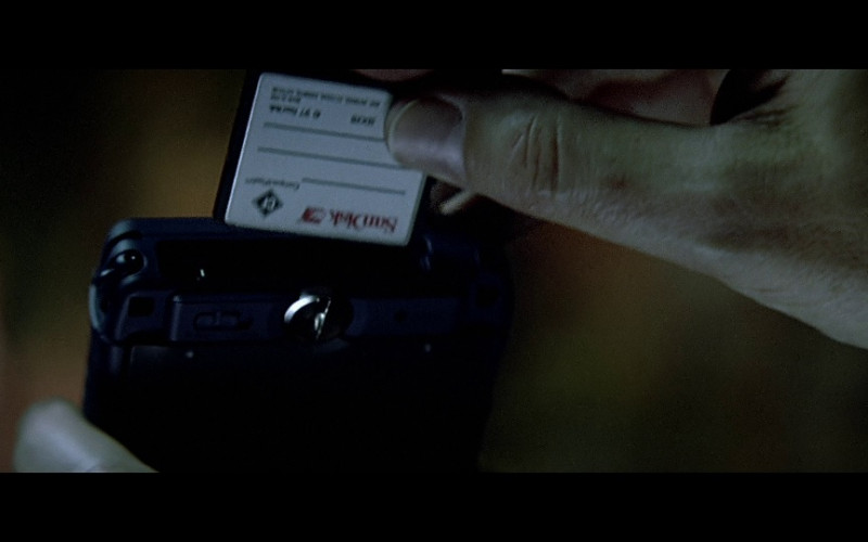 SanDisk in The Sum of All Fears (2002)