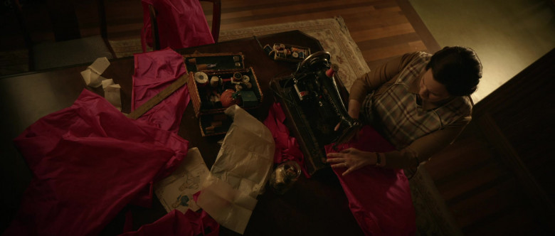 Singer Sewing Machine Used by Allison Tolman as Alma in Why Women Kill S02E01 Secret Beyond the Door (2021)