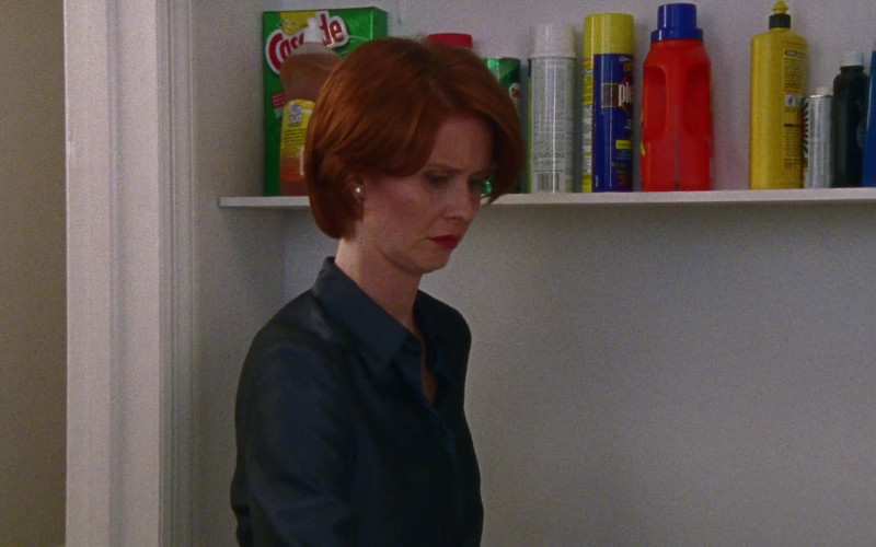 Sunlight Dishwashing Liquid of Cynthia Nixon as Miranda Hobbes in Sex and the City S03E07 Drama Queens (2000)