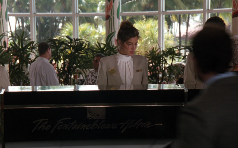 The Fontainebleau Hilton Hotel, Miami Beach, Florida in The Specialist (1994)
