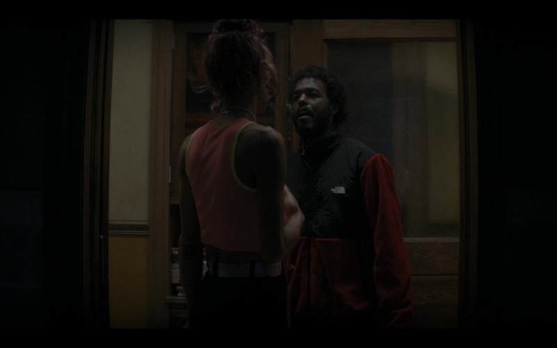 The North Face Jacket in The Chi S04E05 The Spook Who Sat by the Door (2021)
