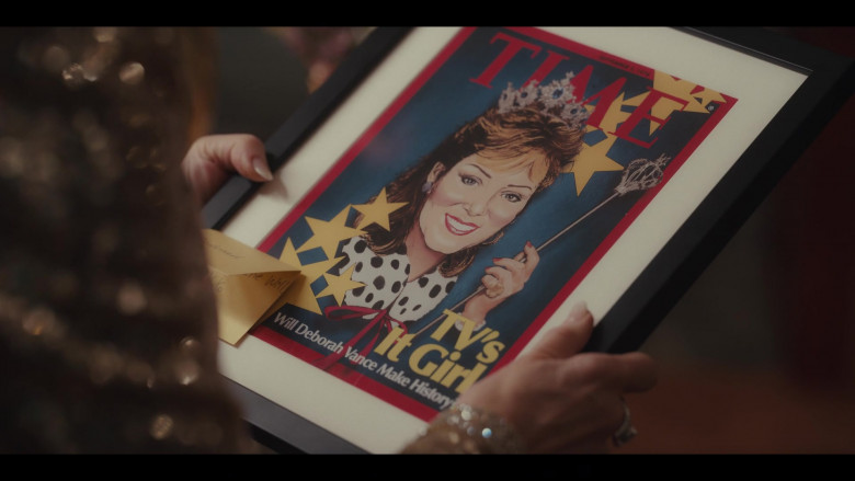 Time Magazine Cover in Hacks S01E10 I Think She Will (2021)