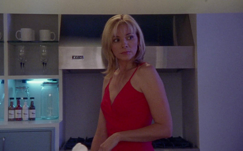 Viking Range Hood Used by Kim Cattrall as Samantha Jones in Sex and the City S03E17 What Goes Around Comes Around (2000)