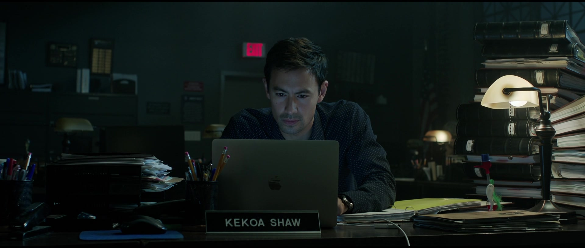 Apple MacBook Laptop Used By George Young As Kekoa Shaw In Malignant (2021)